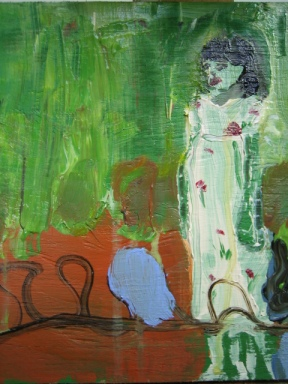 oil on wood 2008 J.Paradisi