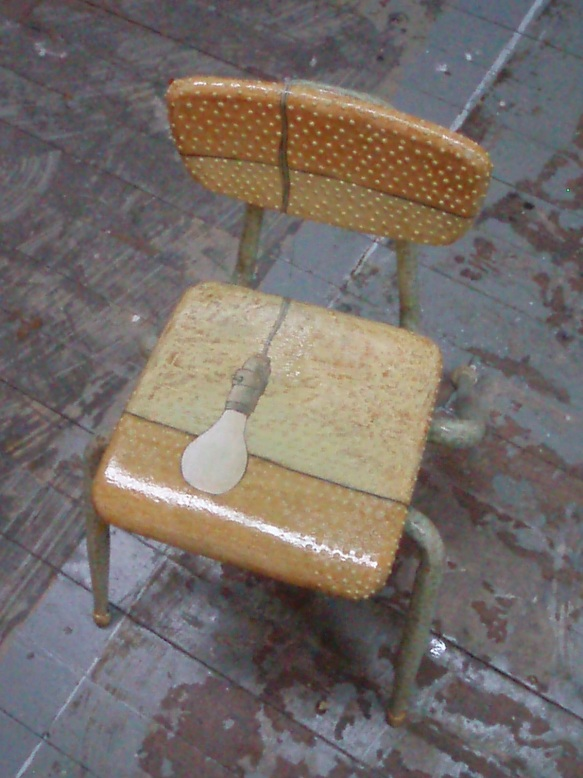Morgan Pasinksi's Chair for the Chair Affair 2009(photo coutesty of M.C.Pasinski)