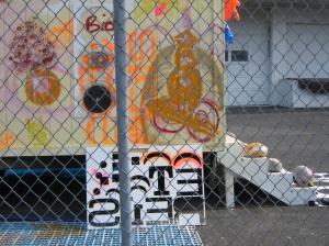 Street art Installation. Unknown Artist(s)