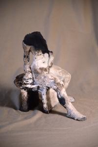 Kaboom 2003 ceramic, raku, glaze. artist: J.Paradisi