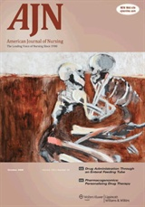 October 2009 cover of The American Journal of Nursing