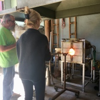 The Perfect 15th Wedding Anniversary Gift : Glassblowing Workshop in Astoria, Oregon