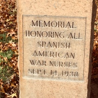 Memorial to Nurses Who Served in the Spanish American War
